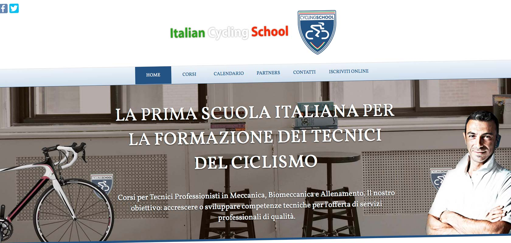 Italian Cycling School - TidiWeb